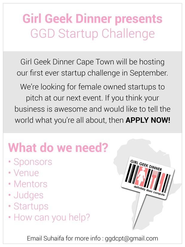 Girl Geek Dinner Invite