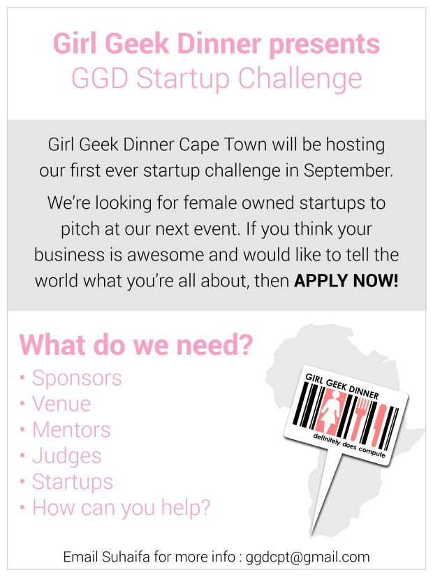 Girl Geek Dinner Invite